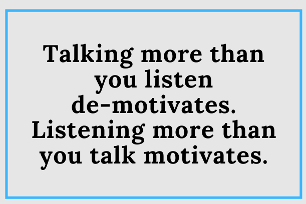 Do You Listen More Than You Talk?