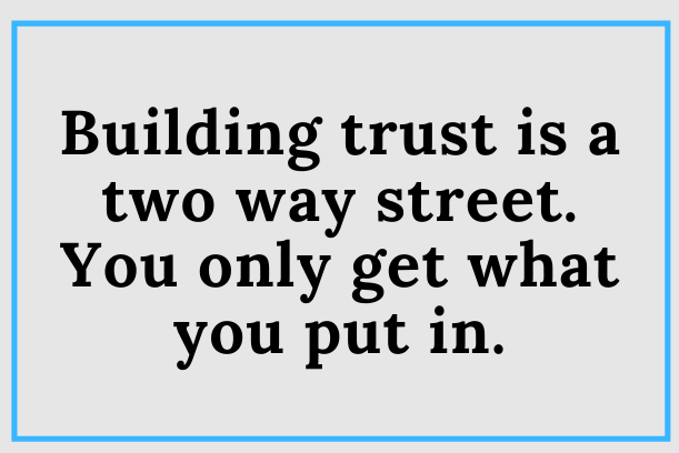 Increase Your Influence With Trust