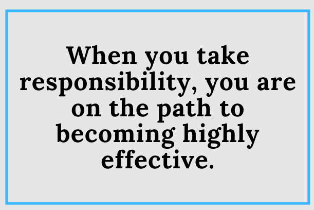 Do You Take Responsibility?