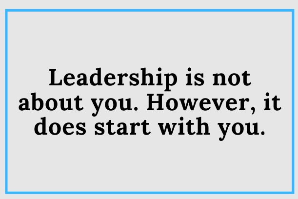 Who Is The Leadership Journey About?